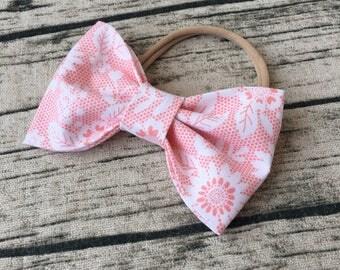 Nylon Baby Headbands Fabric Flowers Children Headband