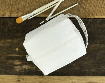 Toiletry Bag, Cosmetic Bag, Made out of Recycled Grocery Bags, Pencil Case