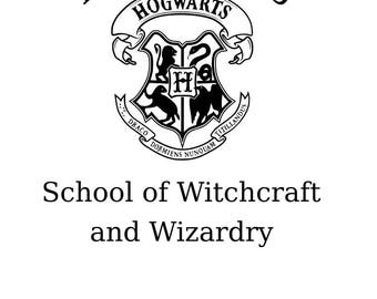Hogwarts school of witchcraft and wizardy svg file