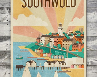 Southwold - Poster (A4 & A2 Sizes)