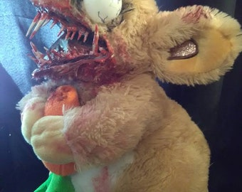 Crazy Zombie Bunny !