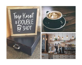 Top Knot Double Shot