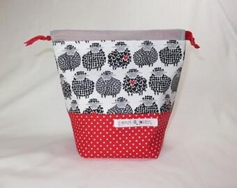Sock Project Bag // Emily Sack // Love Ewe Too