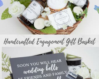 Newly Engaged Gift, Engagement Congrats, Newly Engaged Gifts, Spa Gift Set, Wedding Gifts 2017, Gifts for Women 2017, Congrats Gift Basket