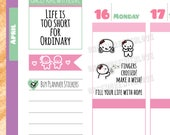 Munchkins - Fingers Crossed Make a Wish Planner Stickers (M326)