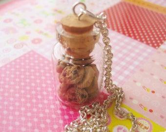 Chocolate Cookie Jar Necklace