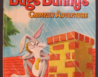 BUGS BUNNY'S Chimney Adventures  vintage Whitman Top Top Tales 1963 Jack Woolgar VG