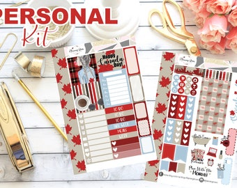 """The """"Eh"""" Team Collection Personal Kit    70+ Planner Stickers"""