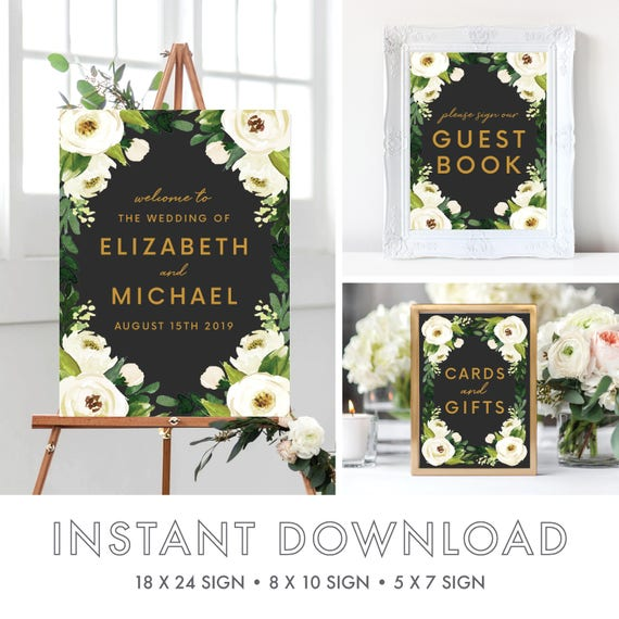 welcome to our wedding signs welcome to our wedding template marsala wedding watercolor boho. Black Bedroom Furniture Sets. Home Design Ideas