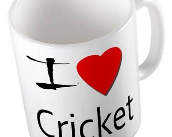 I Love Cricket Mug