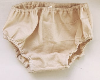 Ivory Baby Bloomers, olive diaper cover, baby diaper cover
