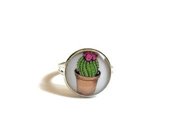 CACTUS RING - Cactus JEWELRY - Cactus  - Cactus Outline - boho jewelry - kids jewelry - Cacti Jewelry - Texas Jewelry - teen jewelry - kids