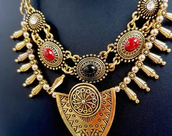 Bohemian Ethnic necklace