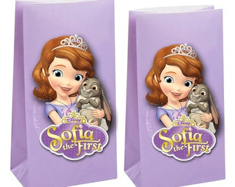 Today only 10% off Sofia the first Party Favor Bag ~Sofia the first Party Inspired Decorations & Decor
