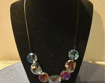 Iridescent Heavenly Necklace