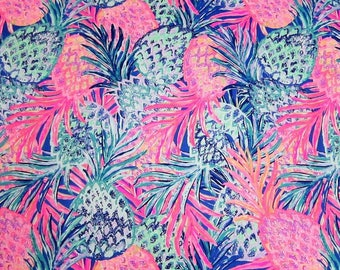 GYPSET PARADISE RESORT  2017 18x18 or 18x9  inches Lilly Fabric Pulitzer Out