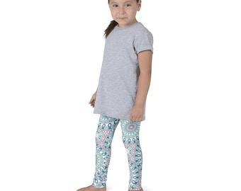 Kids Leggings, Cute Yoga Leggings for Girls, Children's Printed Pants