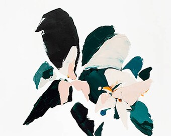 Modern Abstract Botanical Print