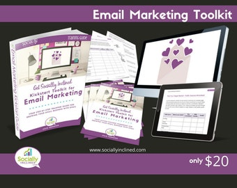 Email Marketing Training - Social Media Marketing Training - Build Your Business With Email - 63 pg training, 22 pg Workbook, and more.
