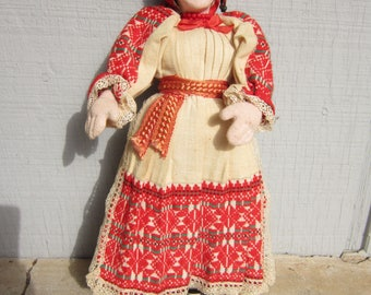 Vintage Doll from Eastern Europe