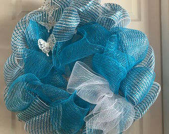 wire mesh wreath