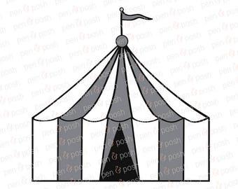 Svg - Carnival Tent SVG - Carnival SVG - Carnival Tent Clip Art - Carnival   - Carnival Tent Dxf - Carnival Tent Cut File for Cricut