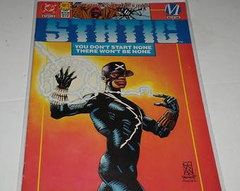 DC Milestone Comics Static Issue # 1 Comic Book