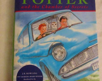 Harry Potter & the Chamber of Secrets - Early Fifth Impression - 1998 - Excellent Unread Condition - Hardback - With Original Dust Jacket