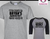 Bachelor Party Shirts: Ti...