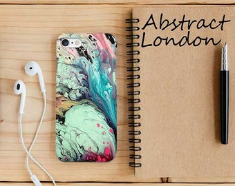 Marble Phone Case Cover for Apple iPhone 5 6 7 8 plus and Samsung Galaxy S6 S8 S7 Colorful Abstract Marble Design iPhone X Case cover