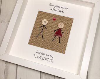 Every Love Story Picture Frame - Valentines Gift - Valentines Gift for Her -  Gift for Girlfriend - Gift for Wife - Valentines Picture Frame