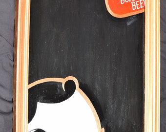 National Bohemian-inspired Mr. Boh Chalkboard