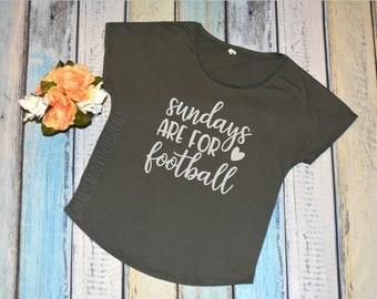 Sundays are for football shirt, Sunday Football Shirt, Football T Shirt, Football Mom Shirt, Superbowl Shirt, Football Life College Football