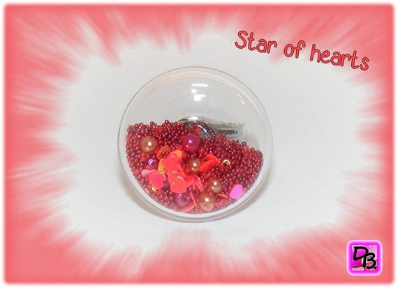 Bague globe [Stars of hearts]