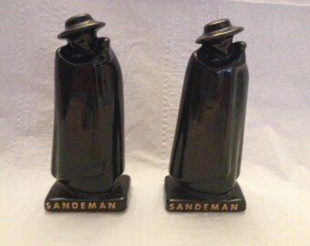 Sandeman Salt and Pepper Shakers Ceramic