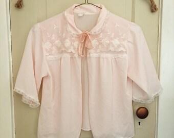 Baby Pink Bolero