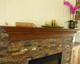 Fireplace Mantle - Walnut