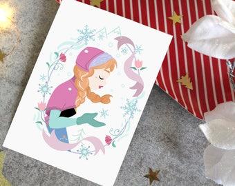 Carte Postale-Anna