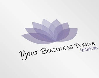 Premade Yoga Logo | Customizable Yoga Logo Design | Yoga Studio Branding