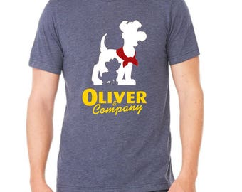 Disney Shirts Mens Oliver and Company shirt disney shirt disneyland Shirt Disney World Shirt Magic Kingdom shirt
