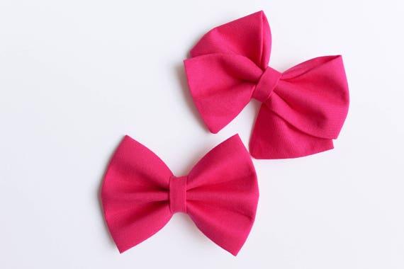 Magenta Pink Bow