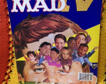 Free shipping in the US/1995 collector  Mad TV Telezine/collectors item/MadTv/ Comics/comic book/books/zine/90s/graphics/caricature