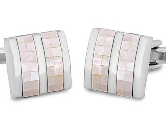 Cufflink with Square Shape