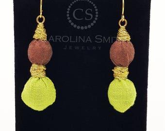 Empire Earrings  by Carolina Smith Jewelry