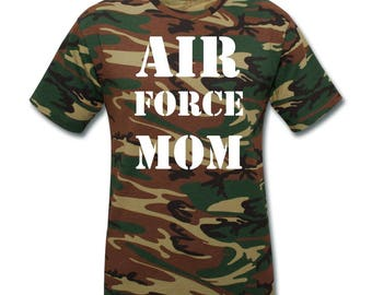 AIR FORCE Mom Shirts Air Force Gifts For Military Moms Proud Air Force Mom Clothing Air Force Apparel Air Force Mom T Shirt Mother Tshirts