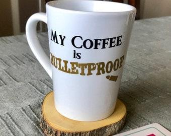 My Coffee is Bulletproof, Keto mug, Ketones mug!  Bulletproof Coffee mug!