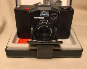 Vintage Minox 35 EL 35mm Film Camera with Case