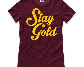 Stay Gold Women's Tee