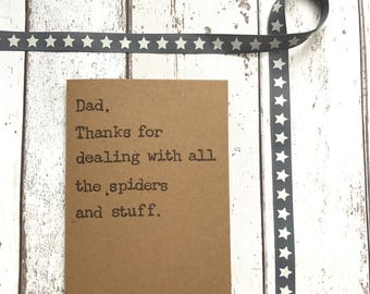 Funny fathers day, fathers day card, dad card, funny dad card, dad birthday card, funny card, card for him, humour card for him, daddy card
