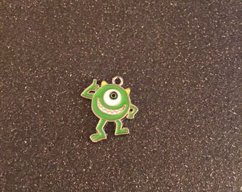 Monsters Inc. Mike charm
